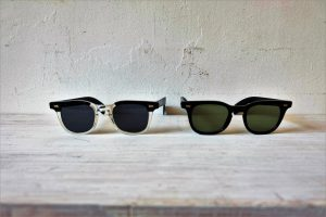 SUNROCK 80'sVINTAGE-SUNGLASSES  ブラックフレーム