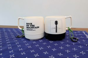 "ZEN&MOUNTAIN ""ROCK ON THE MOUNTAIN"" MUG"